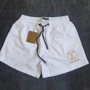 Louis Vuitton men white swim short